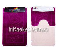 """Комплект ковриков для ванной """"Purple blossom"""""""