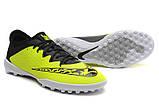 Бутсы многошиповки Nike Elastico Finale III TF Light Green, фото 2