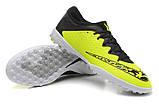 Бутсы многошиповки Nike Elastico Finale III TF Light Green, фото 3