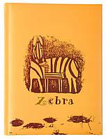 Блокнот  Дитяча серія , А5,  обкл. - карт./порол.,  80 арк., кліт.,  Зебра O20287-05