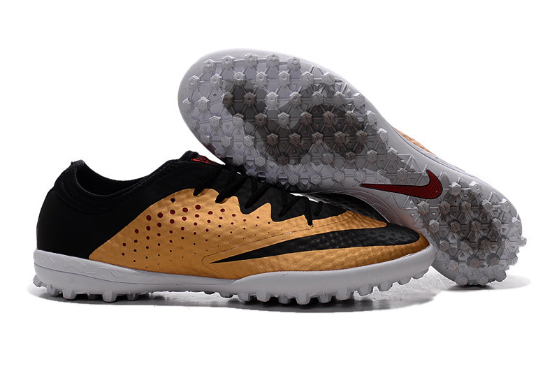 Бутсы многошиповки Nike Elastico Finale III TF Gold