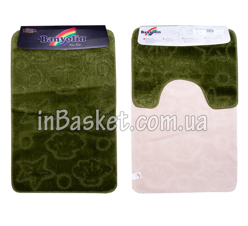 """Комплект ковриков для ванной """"Herbal sea life"""""""