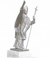 Статуя Святой Отец Иоанн Павел II
