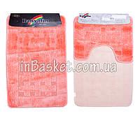 """Комплект ковриков для ванной """"Rosy strips"""""""