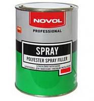 Шпатлёвка жидкая Spray Novol (0.80л)