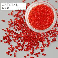 Хрустальная крошка, кристалл пикси, Crystal Pixie, 100 шт/уп красный