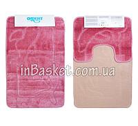 """Комплект ковриков для ванной """"Pink dolphin"""""""