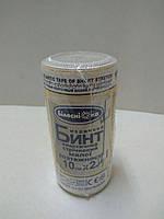 Бинт эластичный компрессионный 2,0 м*10 см малой растяжимости / Белоснежка