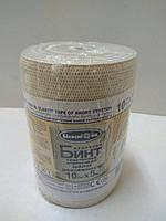 Бинт эластичный компрессионный 5,0 м*10 см малой растяжимости / Белоснежка