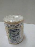 Бинт эластичный 4,0 м*8 см малой растяжимости / Белоснежка
