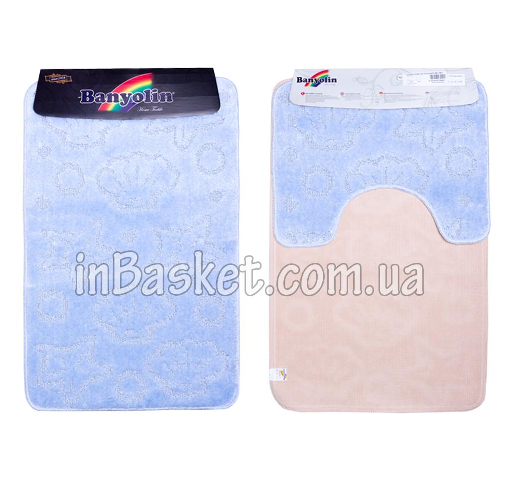 """Комплект ковриков для ванной """"Blue sea life"""""""