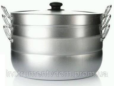 Манты-казан КАЛИТВА (13 л, алюминий, 2 сетки)