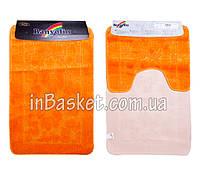 """Комплект ковриков для ванной """"Orange floret"""""""