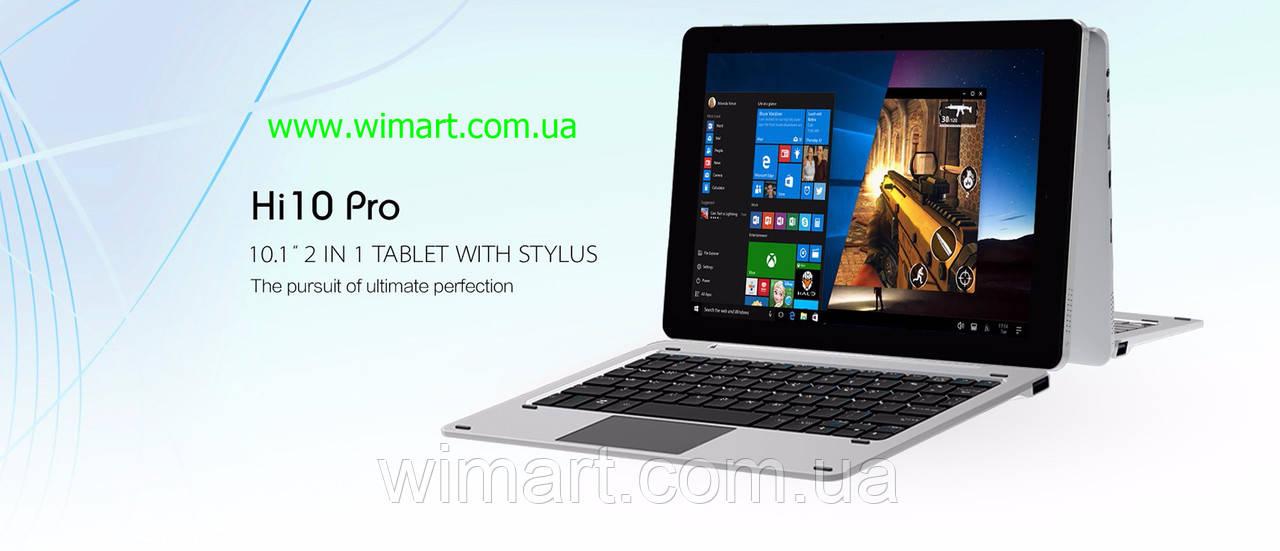 Планшет Chuwi Hi10 Pro Z8350, 4GB/64GB, HDMI, Windows10 + Android 5.1(Remix OS).