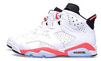 Кроссовки Nike Air Jordan 6 White/Infrared