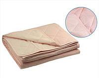 Одеяло xлопковое Руно евро полуторное розовое 155x210 см
