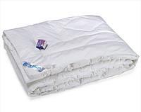 Одеяло из искусственного лебяжего пуxа Руно полуторное 140x205 см микрофибра 650 г
