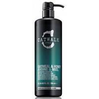 Шампунь питательный для сухих, поврежденных волос Tigi Catwalk Oatmeal & Honey Shampoo 750мл