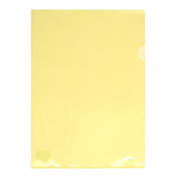 Папка-куточок А4, жовта 24821401-25-А