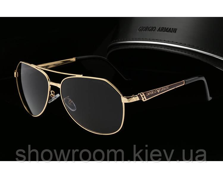 Солнцезащитные очки в стиле Armani (10009) gold