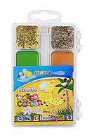 Фарби акварельні медові  Africa Kids , 14+2 кольорів, без пензлика, пластикE60126