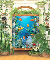 Фотообои *Золотые рыбки* 242х207