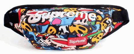 Спортивная сумка бананка Supreme 107, реплика