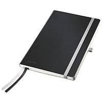 Тетрадь LEITZ STYLE мягкая обложка, A5, клетка, сатиновый черный44880094