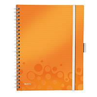 Тетрадь Be Mobile A4 ПП WOW, клетка, оранжевый металлик46450044