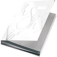 Папка  На подпись , Leitz, ,белая, покрытие  soft skin 57450001