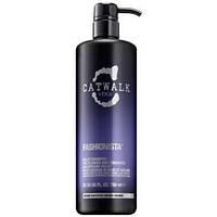 Шампунь фиолетовый для осветленных, мелированных волос Tigi Catwalk Fashionista Violet Shampoo 750мл