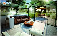 Дом из стекла, укрепляющий здоровье