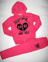 Теплый спортивный костюм для девочки р.140-164(арт.41853мал)