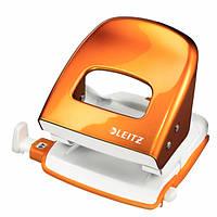 Большой дырокол Leitz WOW,оранжевый металлик  ( 30 листов)50082044