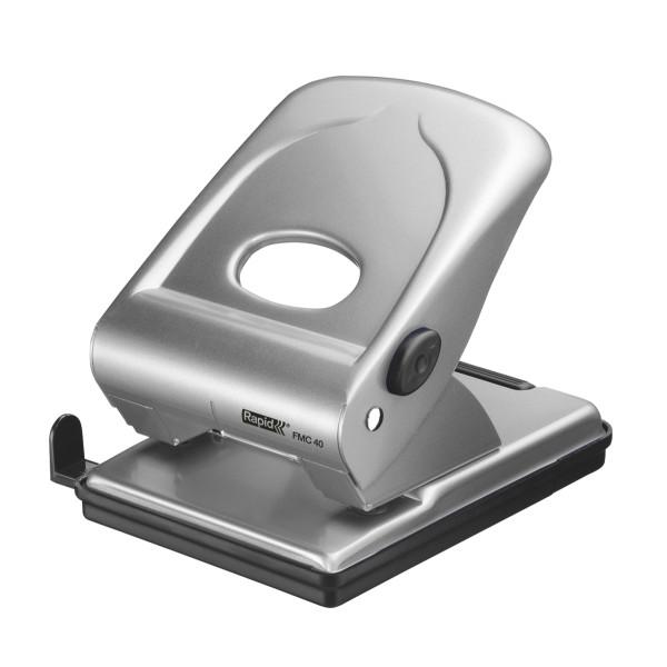 Діркопробивач Rapid Fashion FMC40 металевий сріблястий 40 аркушів 5 років гарантии21835602