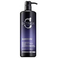 Кондиционер фиолетовый для осветленных, мелированных волос Tigi Catwalk Fashionista Violet Conditioner 750мл