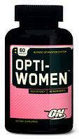 Витамины для женщин оптивумен Optimum Nutrition Optiwomen 60 таблеток opti-women