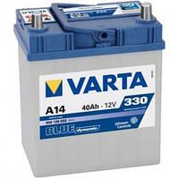 Аккумулятор   VARTA 40Ah-12v  BD (A14) (A15)
