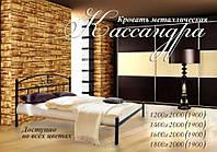 Кровать металлическая полуторная Кассандра
