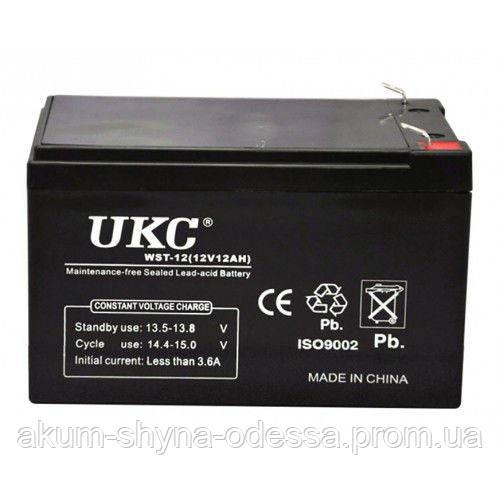 Аккумулятор UKC WST-12 (12V,12Ah)