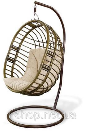 Кресло-люлька - кресло качели ротанг, фото 2