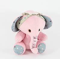 """Слоник """"Розовый цветочек"""" - 130012"""