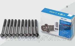 Болт головки блока цилиндров ВАЗ 2101 нового образца (комплект)