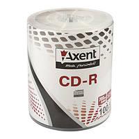 Диск Axent CD-R 700MB/80min 52X, 100 шт, bulk 161188101-А