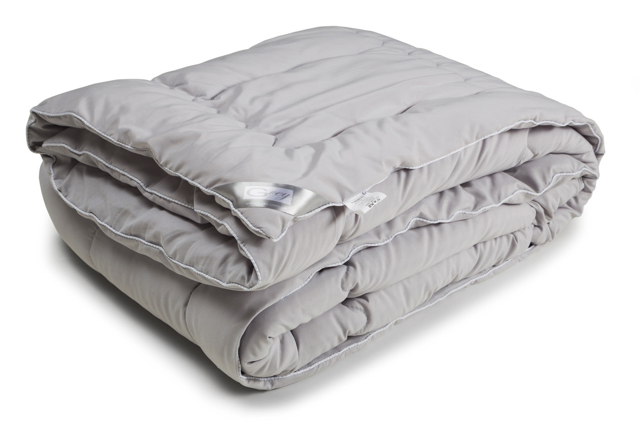Одеяло Руно серия GREY полуторное силикон 140x205 см 200 г/м2 (321.52GREY)