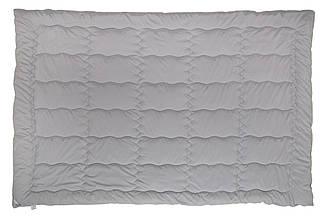 Одеяло Руно серия GREY полуторное силикон 140x205 см 200 г/м2 (321.52GREY), фото 2
