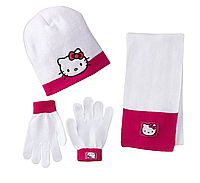 "Комплект ""Hello Kitty"" (шапка, шарф, перчатки Хелло Китти)"