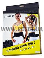Лечебный пояс для фиксации спины с магнитами - Bamboo Yarn Belt FI-1210