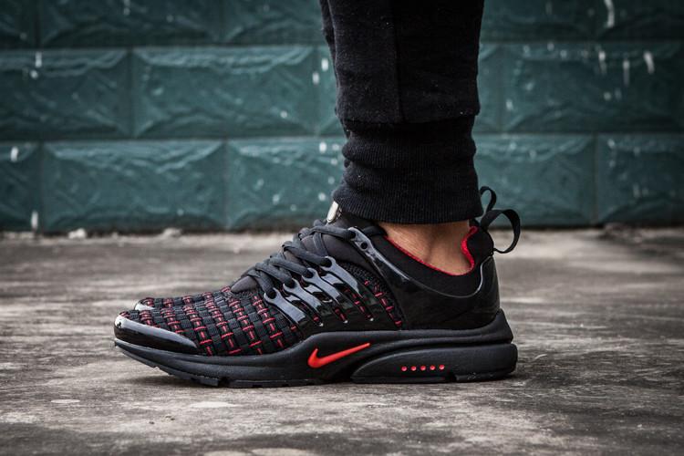 Кроссовки мужские Nike Air Presto QS Woven / ARP-098 (Реплика)