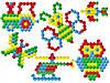 "Іграшка мозаїка-пазли ""Бджілка ТехноК"" (100 деталей), фото 2"